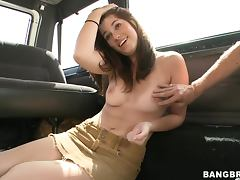 Sexy Teen Makes Her Big Ass Bounce On Top Of A Hard Cock