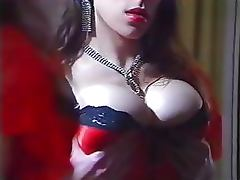 Sinful Busty Brunette Gets Anal Fucked and Creampied in a Retro Porn Clip tube porn video
