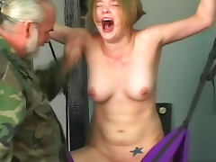 Tit pain for sexy bound girl tube porn video