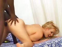 White pussy and black dick meet