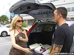 Hardcore Sex With The Blonde Milf Nina Hartley tube porn video