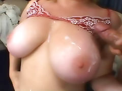 Fat Big Tits, BBW, Big Tits, Blonde, Chunky, Cum