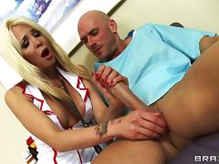 Hot Nurse Is Impressed By A Patients Big Cock And Ends Up Riding