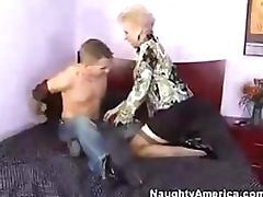 Sexy Mature Cougar Mrs Jewell Gets a Teen Stud's Cock To Suck and Fuck tube porn video