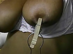 Gagging, BDSM, Gagging, Nipples, Panties, Punishment