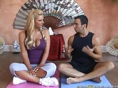 Sinful Blonde Phoenix Marie Is Left To Handle Her Yo Instructor's Big Cock tube porn video