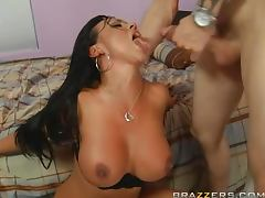 Cum Thirsty Brunette Mariah Milano Loves Giving Blowjobs
