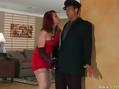 Red Widow With Redhead Nicki Hunter Hard Anal
