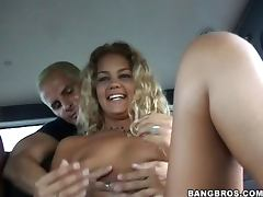 Melanie Takes a Thick Cock inside