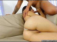 mouth watering video of hot and sex hungry Amber Rayne