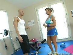 Hardcore Exercise With The Horny Blonde Nikki Sexx porn tube video