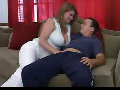 Handjob and hot making