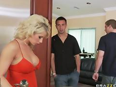Brooke Haven gets big facial