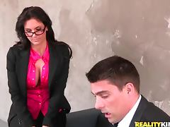 Nasty milf Phoenix Marie gets fucked in missionary position tube porn video