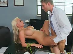 Holly Halston shaved pussy fuck