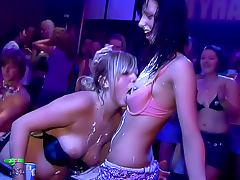 Glamorous sluts stripped and fucked