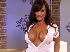Unbelievable Busty Milf Lisa Anna Big Tit Fucking