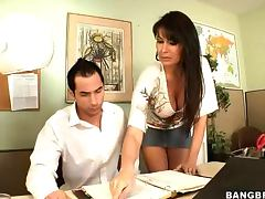 Eva Karera Wants To Fuck her Office Mate tube porn video