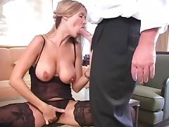 Housewife, Babe, Blowjob, Doggystyle, Housewife, Lingerie