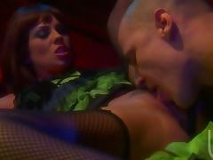 Kirsten Price Sucks On a Big Cock After Getting Cum On Her Natural Tits tube porn video