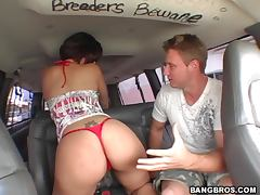 Car, Anal, Ass, Babe, Brunette, Car