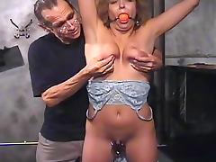 She enjoys submission and bondage tube porn video