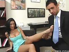 Foot Fetish Action in the Doctor's Office with Busty Slut Jayden Jaymes tube porn video