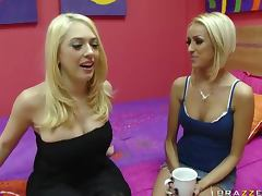 Hot Lesbian Action With Roommates Breanne Benson And Kagney Linn Karter