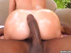 Monster, Big Cock, Blonde, Cunt, Fingering, Interracial
