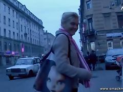 Olya goes for a shopping and gets fucked so hard