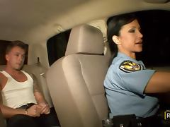 Officer Jewels Gets A Hardcore Fuck From A Really Horny Prisoner