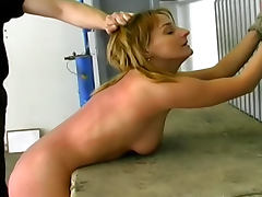 Pain galore for the skinny sub girl