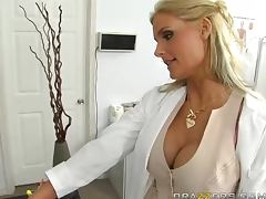 Cowgirl and Doggystyle Fucking For Busty Blonde Phoenix Marie tube porn video