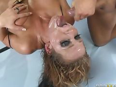 Voracious Nikki Sexx Gets a Double Penetration In a Hardcore Threesome