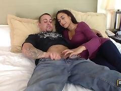 Horny Couple enjoy Heating things
