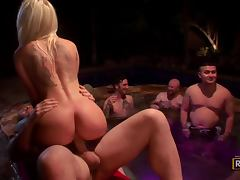 Pool Action With The Hot Teens Casi James and Stevie Shae porn tube video