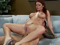 Dirty anal fun with redhead