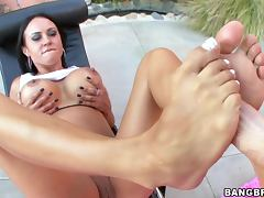 Mariah Milano and her fucking feet