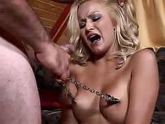 Helpless and hungry Chary is masturbating her pussy tube porn video
