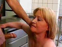 chubby granny fuck and blowjob with food tube porn video