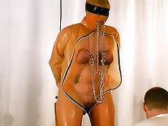Blindfolded, Blindfolded, Fat, HD, Latex, Shave