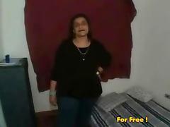 Mature bbw strips amp plays tube porn video