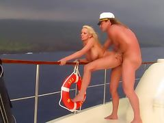 High Seas Action With The Busty Blonde Stormy Daniels tube porn video