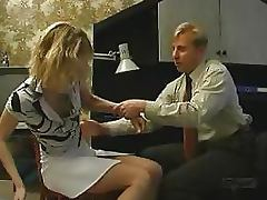 Blowjob, Babe, Blonde, Blowjob, Office, Penis