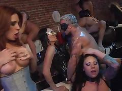 Hardcore Cock Sucking Freaks In Wild Sex Orgy