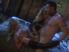 Spectacular Bondage Threesome Featuring Blonde Babe Jessica Drake