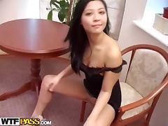 Asian sexdoll seduces her boyfriend