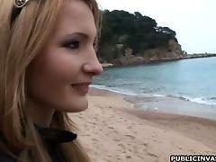 Beach, Beach, Exhibitionists, Flashing, Smoking