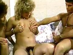 Retro Shemale Shared By Couple tube porn video