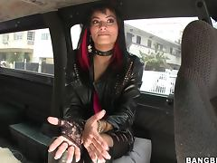 Goth Chick Loves to Suck and Ride Cock in the Back porn tube video